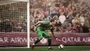 Bravo, unO de los 5 finalistas al FIFA Fifpro. FOTOMUNTATGE FCB