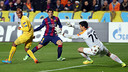 Luis Luis Suárez made a textbook indvidual play on the first goal of the evening / PHOTO: MIGUEL RUIZ-FCB