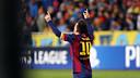 Leo Messi est désormais le meilleur buteur de l'histoire de la C1 / PHOTO: MIGUEl RUIZ - FCB