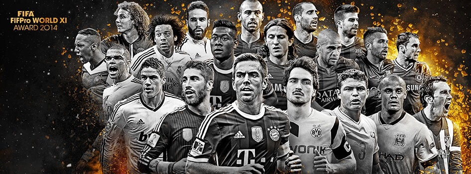 Els 20 defenses preseleccionats per al FIFA FIFPro