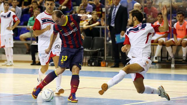 El Barça vuelve a la LNFS después de clasificarse para la Final 4