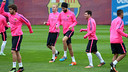 After the opening cup fixture there's a the city derby against Espanyol / PHOTO: MIGUEL RUIZ - FCB