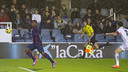 Adama excelled, but Albacete took all three points / PHOTO: VICTOR SALGADO - FCB