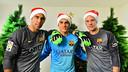 Les gardiens du Barça / Photo Miguel Ruiz
