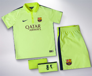 FC Barcelona Kids' Third Kit