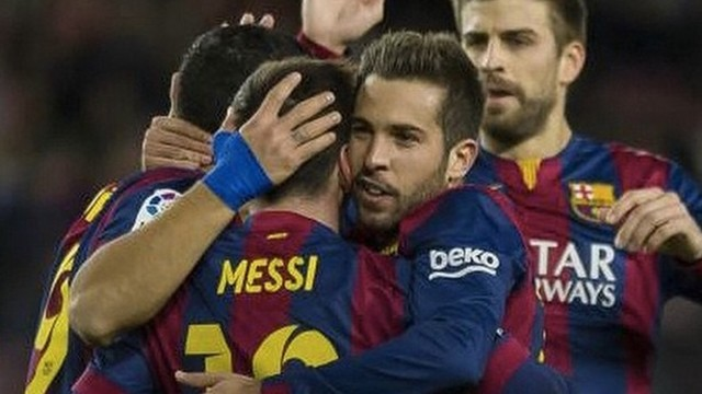 Barça overcame an early deficit to beat Espanyol in Sunday's derby