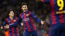 Neymar celebrates his goal against PSG / PHOTO: MIGUEL RUIZ-FCB.