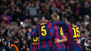 FC Barcelona players celebrate a goal against PSG / MIGUEL RUIZ-FCB