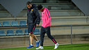 Neymar left training early with an ankle problem / PHOTO: MIGUEL RUIZ - FCB