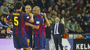 Ferrao's goal was something to celebrate / PHOTO: VICTOR SALGADO - FCB