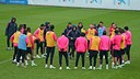 The team during the training session / MIGUEL RUIZ-FCB