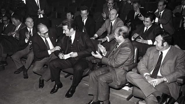 El 18 de desembre del 1969 Agustí Montal i Costa va ser nomenat nou president del FC Barcelona