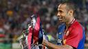 Thierry Henry, campió d'Europa. FOTO: MIGUEL RUIZ-FCB.