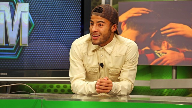 Rafinha fetaured on the Barça TV programme  'El Marcador'  / PHOTO: MIGUEL RUIZ - FCB