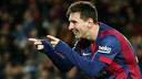 Leo Messi is among the squad of 18 for the game with Cordoba / PHOTO: MIGUEL RUIZ - FCB