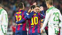 Messi scored two late goals to cap a perfect afterrnoon / PHOTO: VÍCTOR SALGADO-FCB