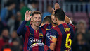 Messi scored the last two goals of the afternoon / PHOTO: MIGUEL RUIZ - FCB