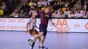 Sigurdsson, extremo del Barça de balonmano / FOTO:JAVIER QUINTANA-ASOBAL