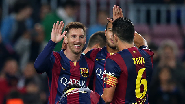Leo Messi scored six times at the Camp Nou in December / PHOTO: MIGUEL RUIZ-FCB