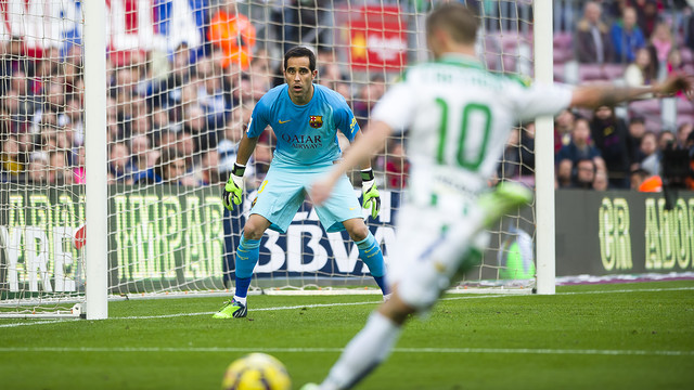Bravo has only been beaten seven times in the league. PHOTO: GERMÁN PARGA-FCB.