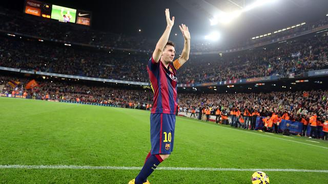 Messi is the highest goalscorer in Liga history / PHOTO: MIGUEL RUIZ - FCB