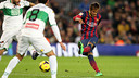 Neymar during 2014's first game against Elche / PHOTO: MIGUEL RUIZ - FCB