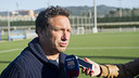 Eusebio was speaking to the media before his side entertains Las Palmas / PHOTO: VÍCTOR SALGADO - FCB
