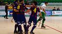 Marc Torra scored three goals in Calafell: PHOTO: JORDI MONTSERRAT
