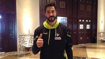 Raúl Entrerríos, un dels 12 blaugranes a Doha /FOTO:FCB