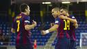 Barça beat Peníscola 5-2 on Saturday at the Palau Blaugrana / PHOTO: VICTOR SALGADO - FCB