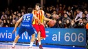 Àlex Abrines led the Barça scoring with 19 points / PHOTO: ACB Photo