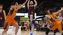 Huertas featured against Valencia earlier this season / PHOTO:ACB