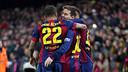 But de Messi contre l'Atlético. PHOTO: MIGUEL RUIZ-FCB.