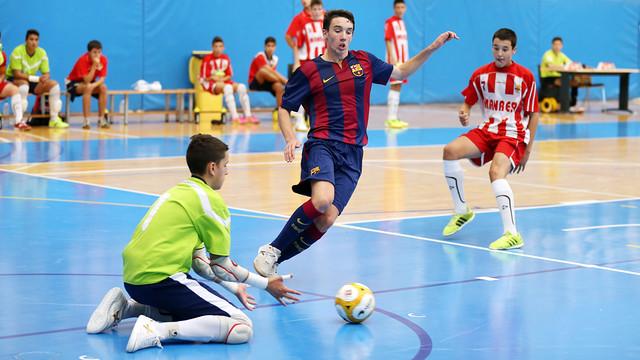 L'equip Infantil va guanyar per 0-4 al Manresa