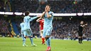 Kun Agüero missed a great chance to equalise towards the end of the game / PHOTO: Manchester City