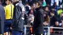 Luis Enrique, lors d'une action du match / PHOTO: MIGUEL RUIZ - FCB