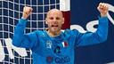 FCB goalkeeper Saric helped Qatar into the quarter finals / PHOTO:Qatar Handball 2015