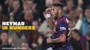 Foto design Neymar sedang menaikan tangannya
