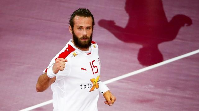 Noddesbo, peça clau de Dinamarca / FOTO: Qatar Handball 2015