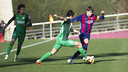 Sergio Juste captained the side against their Chinese guests / FCB-VICTOR SALGADO.