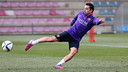 Xavi Hernandez spoke in Friday's press conference after the morning training session. / PHOTO: MIGUEL RUÍZ - FCB
