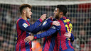Neymar and Rafinha were two of the keys to victory against Villarreal. PHOTO: MIGUEL RUIZ - FCB
