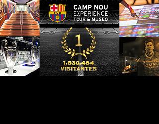 Museo del Barça, el más visitado