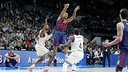 Edwin Jackson couldn't save Barça from a harrowing defeat / PHOTO: EUROLEAGUE
