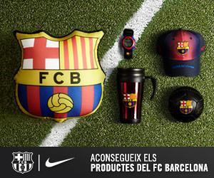 Aconsegueix els productes del FC Barcelona