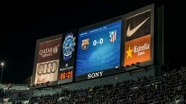Keep track of the time at the Camp Nou with this spectacular Maurice Lacroix clock / FCB