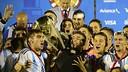 Maxi Rolón, campeón con Argentina sub-20. / FOTO: CONMEBOL.COM