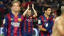 Iniesta, élément clé aujourd'hui. /MIGUEL RUIZ - FCB