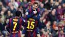 Against Levante, Messi scored yet another hat-trick / MIGUEL RUIZ-FCB