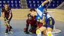 Imagen del Barça-Lleida del curso 2013/14. FOTO: Arxiu FCB
